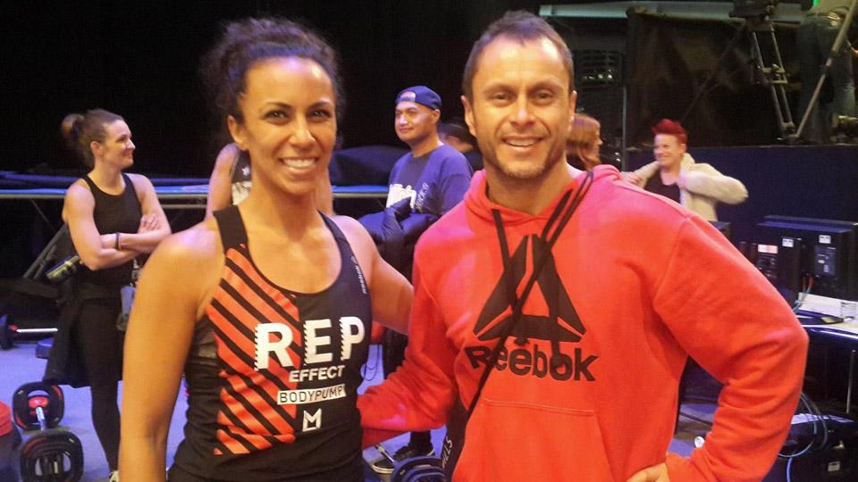 Kaisa Clark with Glen Ostergaard